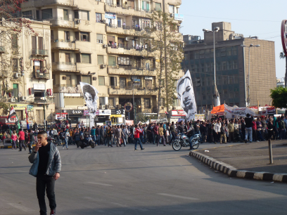 Julia Blandfort: Tahirplatz in Kairo