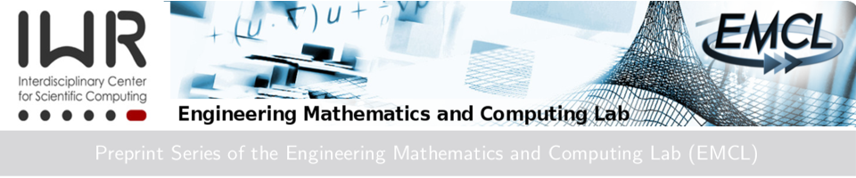 Preprint Series of the Engineering Mathematics and Computing Lab (EMCL)