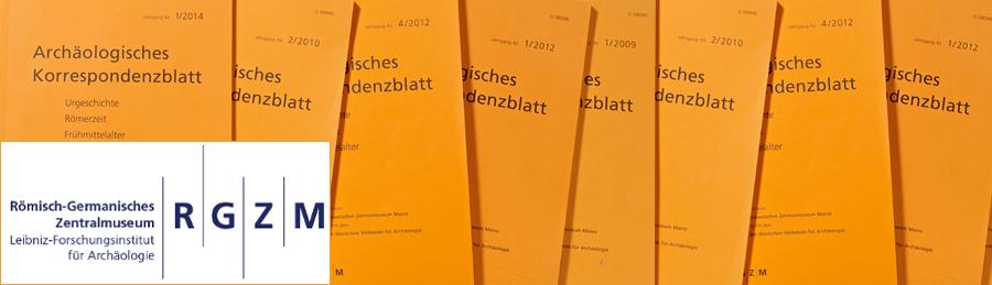 Römisch-Germanisches Zentralmuseum - Forschungsinstitut für Archäologie: Archäologisches Korrespondenzblatt