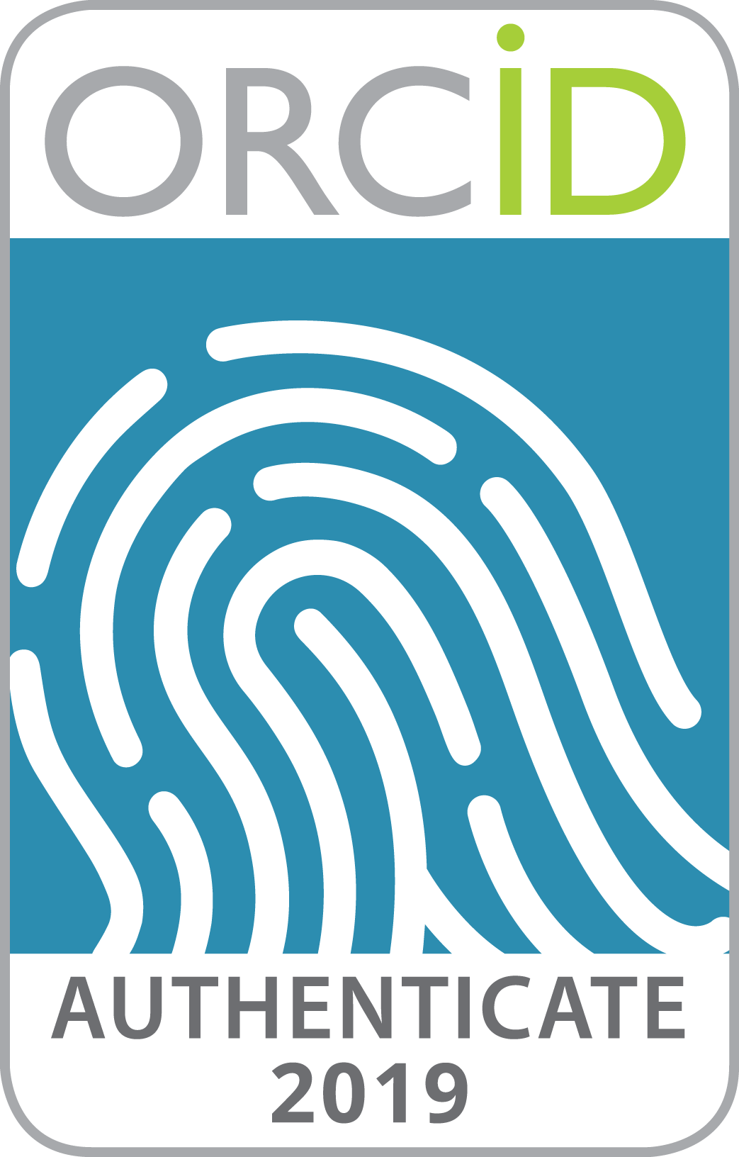 2019 ORCID Collect & Connect badge -- Authenticate
