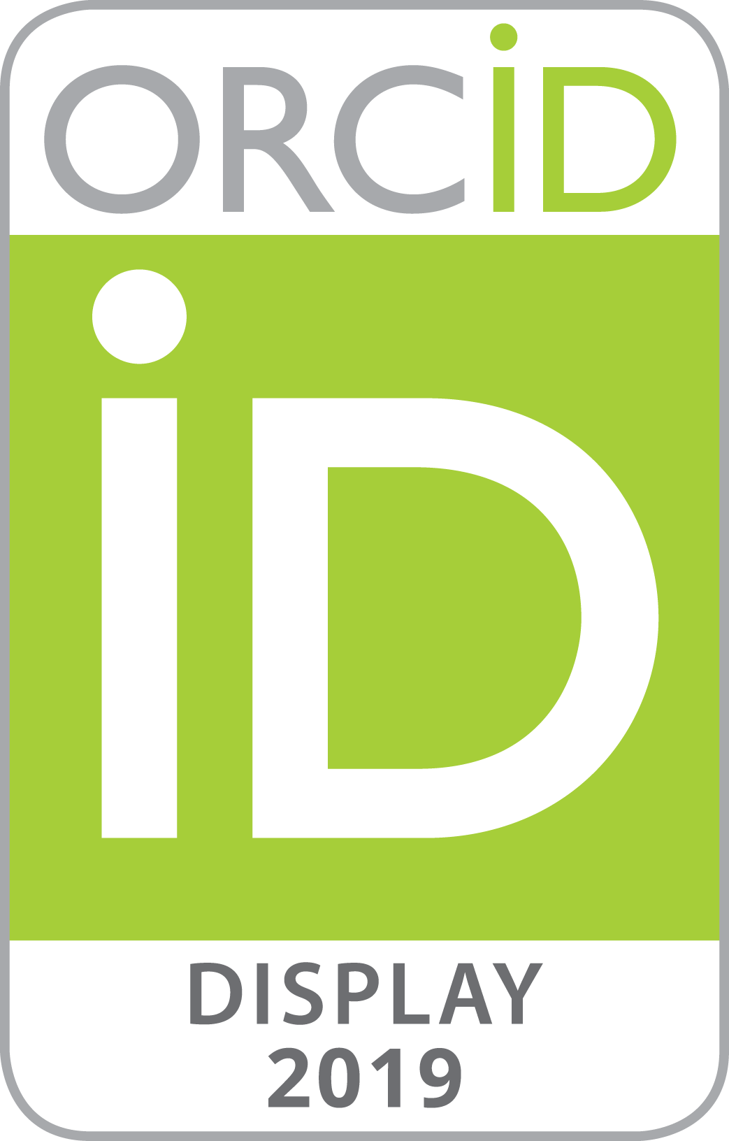 2019 ORCID Collect & Connect badge -- Display